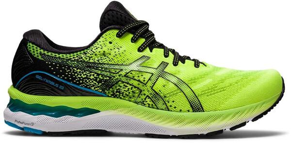 Chaussures de Running ASICS GEL-NIMBUS 23 Vert Fluo/Noir 2021
